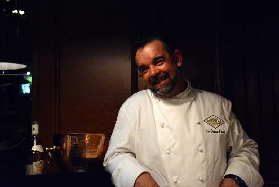Chef Jean-Stephane Poinard of Urbain 40.