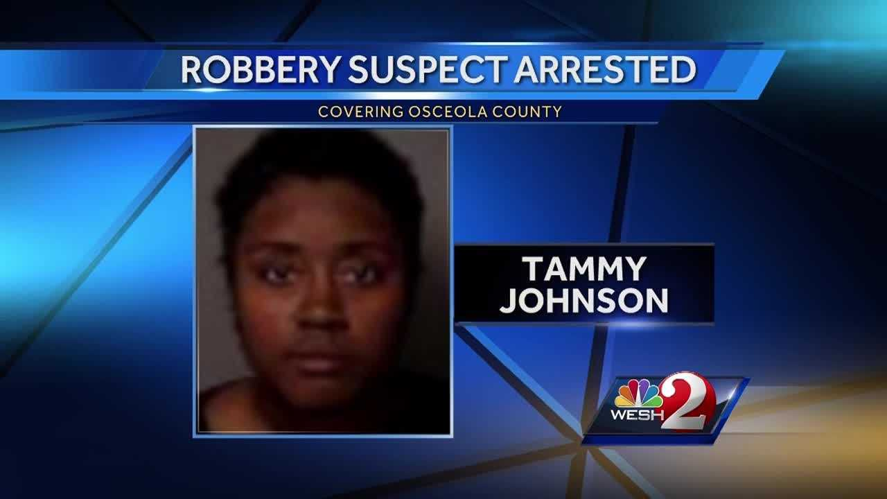Deputies are crediting an alert guest for helping them track down a woman who authorities believe robbed a Kissimmee area motel and threatened to hurt the clerk. Bob Kealing (@bobkealingwesh) has the story.