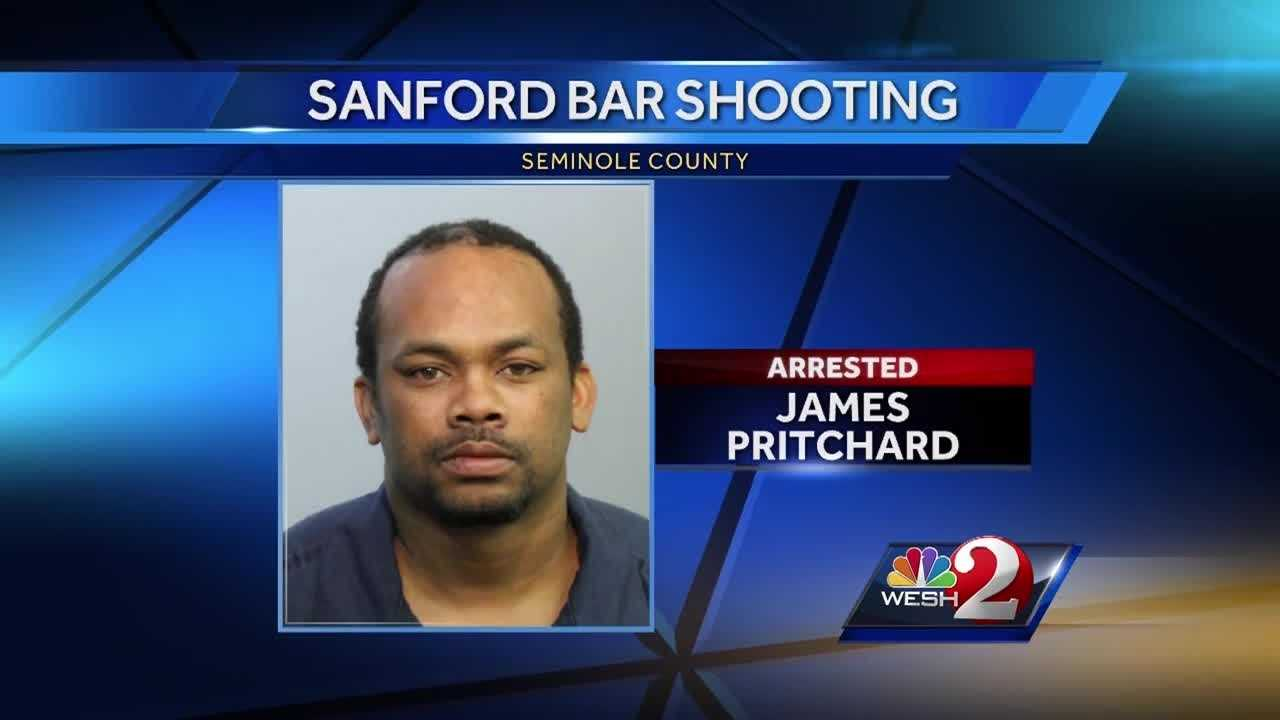 The man accused of opening fire in a Sanford bar and killing an innocent bystander has learned he will stay in jail, at least for now. James Pritchard was arrested late Sunday night. Matt Grant reports.