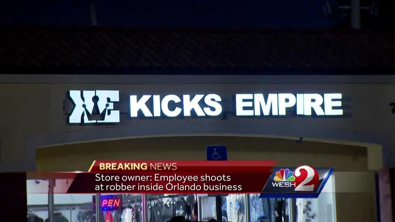 A local store owner told WESH 2 News that one of his employees was forced to open fire on a robber. WESH 2's Summer Knowles is live from Orlando Police Headquarters with the latest update.