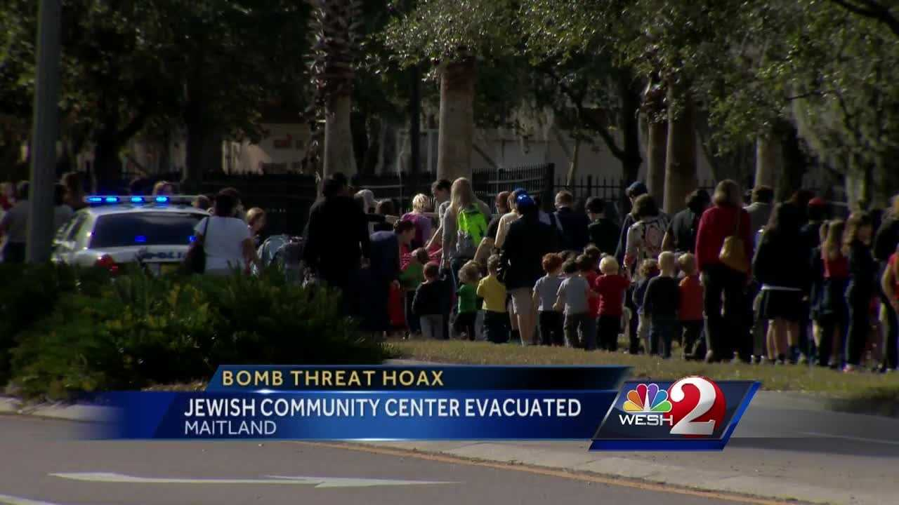 A bomb threat forced the evacuation of the Jewish Community Center in Maitland on Tuesday. By 12:40 p.m., officials had given the all-clear and said no explosives were found.  Amanda Ober (@AmandaOberWESH) has the latest update.