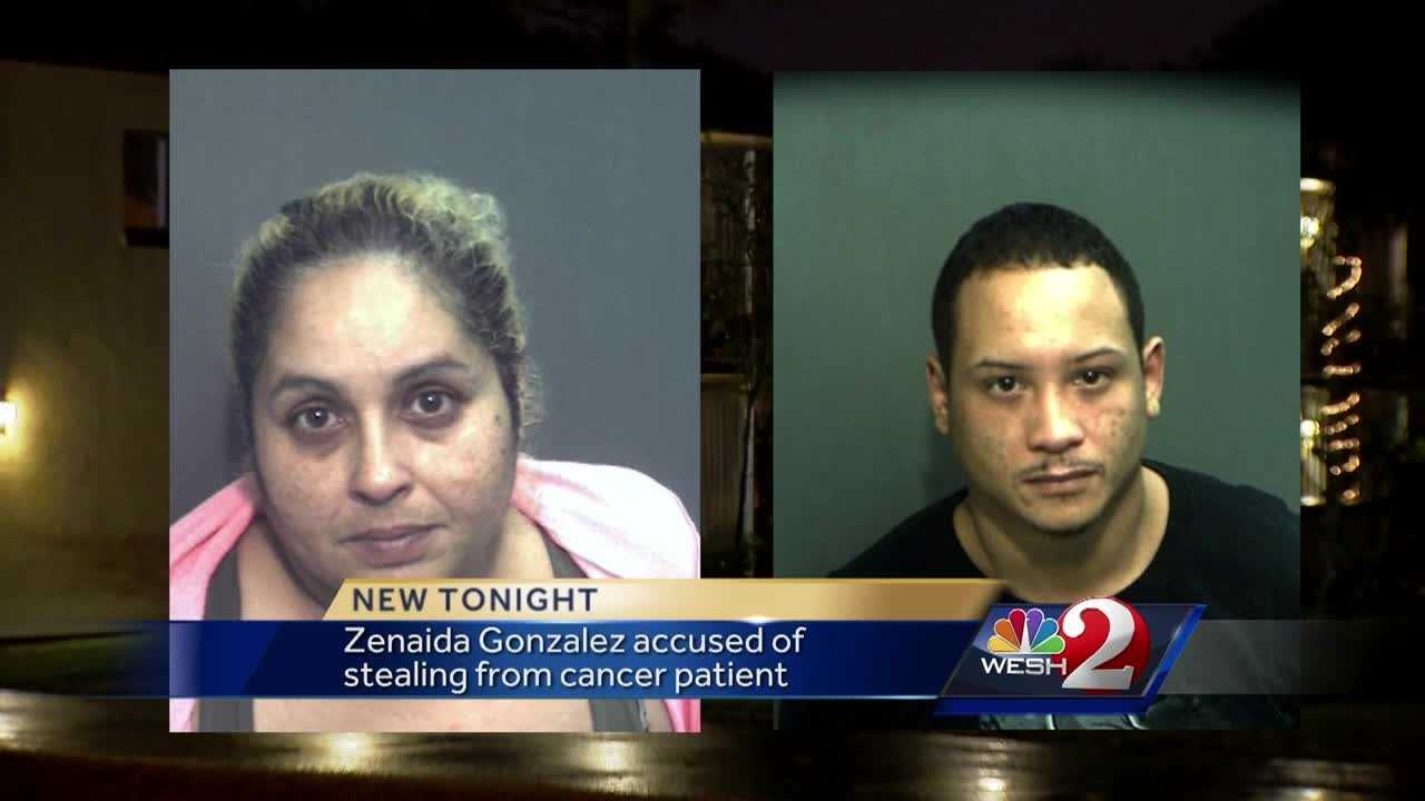 Zenaida Gonzalez, the woman who once filed a defamation lawsuit against Casey Anthony, is now facing theft charges in Osceola County. Osceola County sheriff's detectives obtained felony warrants Wednesday and arrested Jonattan E. Acevedo and Gonzalez, 45. Matt Lupoli reports.