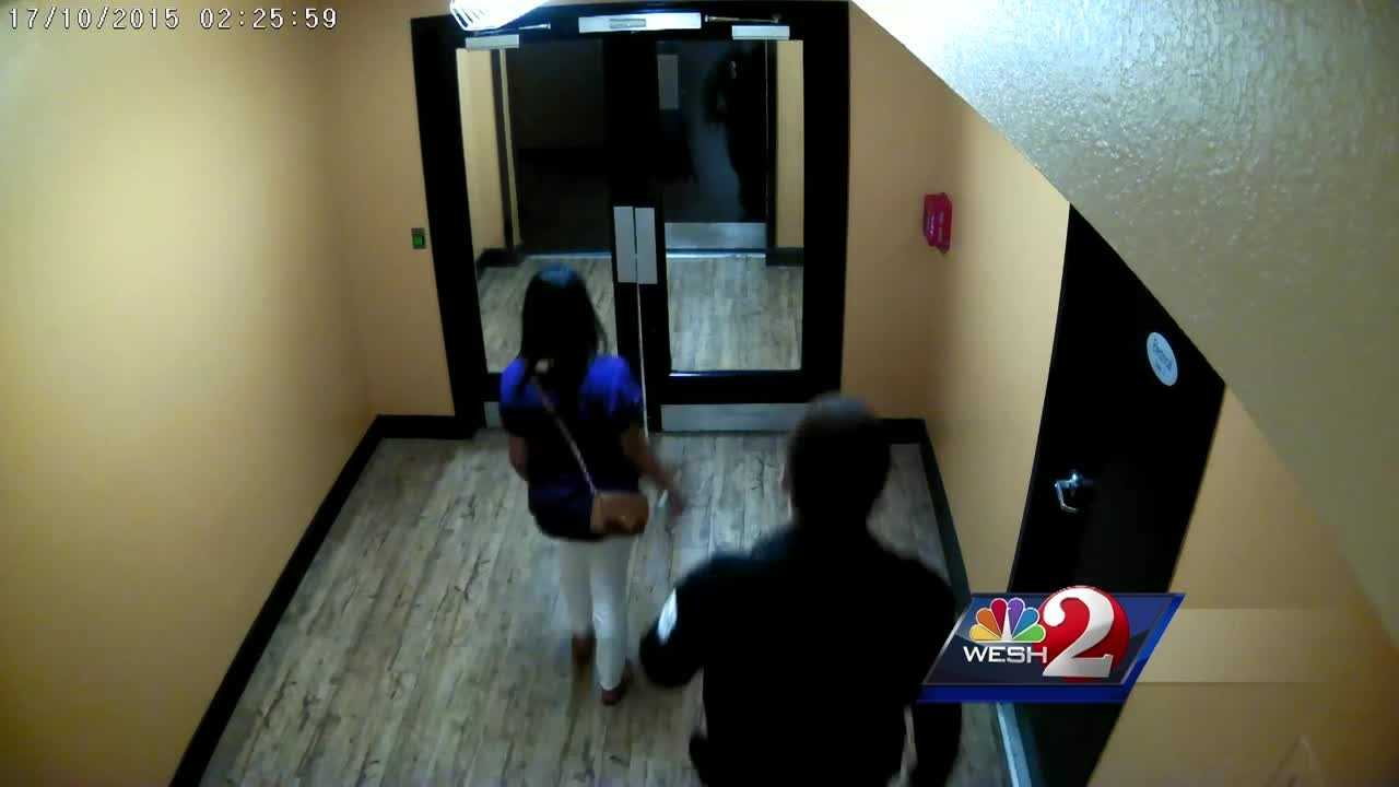 New evidence has been released in a murder investigation in a downtown Orlando apartment building. A security guard is accused of killing a woman he was supposed to help keep safe. Summer Knowles reports.