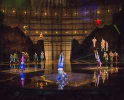 All new acts at La Nouba at Disney Springs - La Nouba by Cirque du Soleil transforms the ordinary into the extraordinary and stimulates the imagination from beginning to end with daring acrobatics, dazzling choreography, vibrant music and whimsical characters only at Disney Springs.  As part of the show's ongoing evolution, La Nouba continues to bring new acts: B-Boy, commonly referred to as breakdancing, and Aerial Bamboo, a technique mastered by only a handful of performers worldwide. The acts join the recent additions of uproarious clowns and a breathtaking juggling rolla bolla act.  For more information about La Nouba by Cirque du Soleil, visit cirquedusoleil.com.