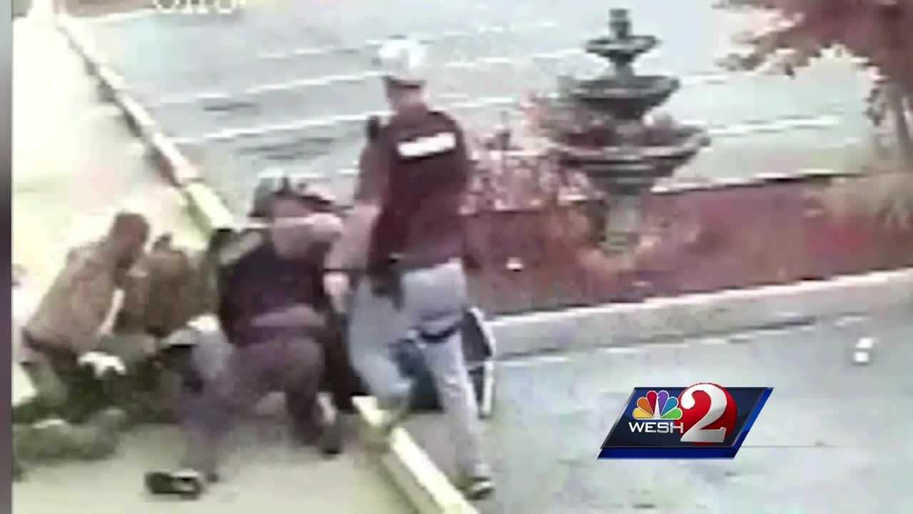 A day after federal prosecutors announced that a Marion County sheriff's deputy has been charged with violating the rights of a suspect by excessive force, the county sheriff defended his agency.