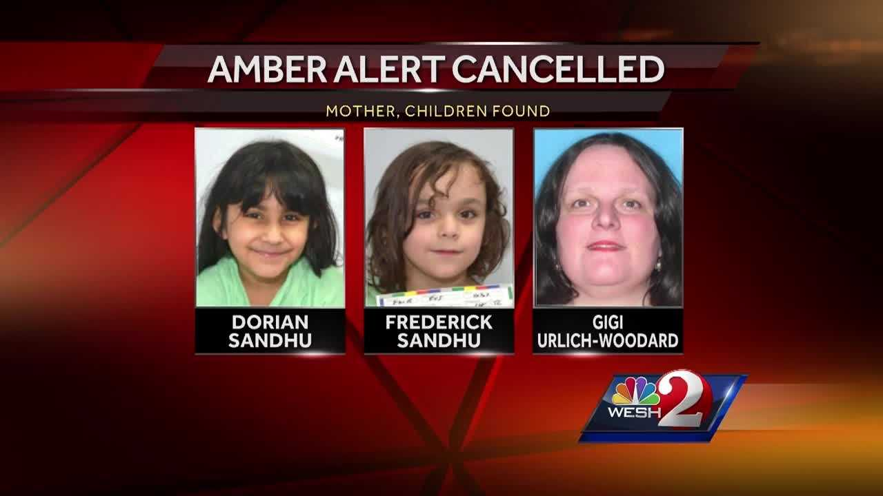 Gigi Ulrich-Woodard Sandhu and her two missing children were taken into custody in Madison, Florida at 4:10 p.m. Thursday, authorities said. Summer Knowles has the latest update.
