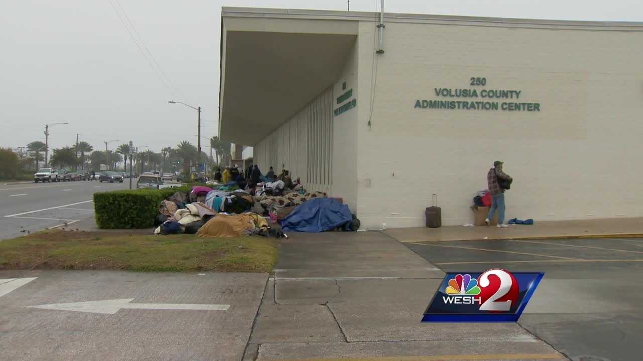 City leaders in Daytona Beach have promised to find 100 beds to resolve the homeless crisis downtown, and they say they are halfway there, but the numbers don't seem to dwindle.