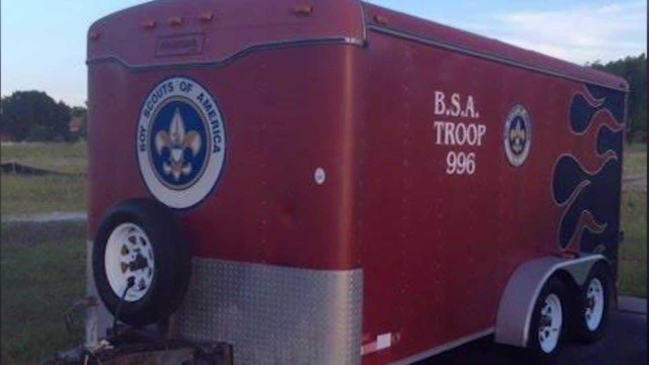 Someone took off with a trailer that belongs to a local Boy Scout troop. The Scouts themselves, and one of their dads, has a message for the crook. Chris Hush (@ChrisHushWESH) has the story.