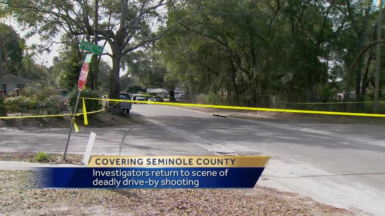 The Seminole County Sheriff's Office is searching for the person who shot and killed a 15-year-old as he was riding in a car in East Altamonte Friday night.