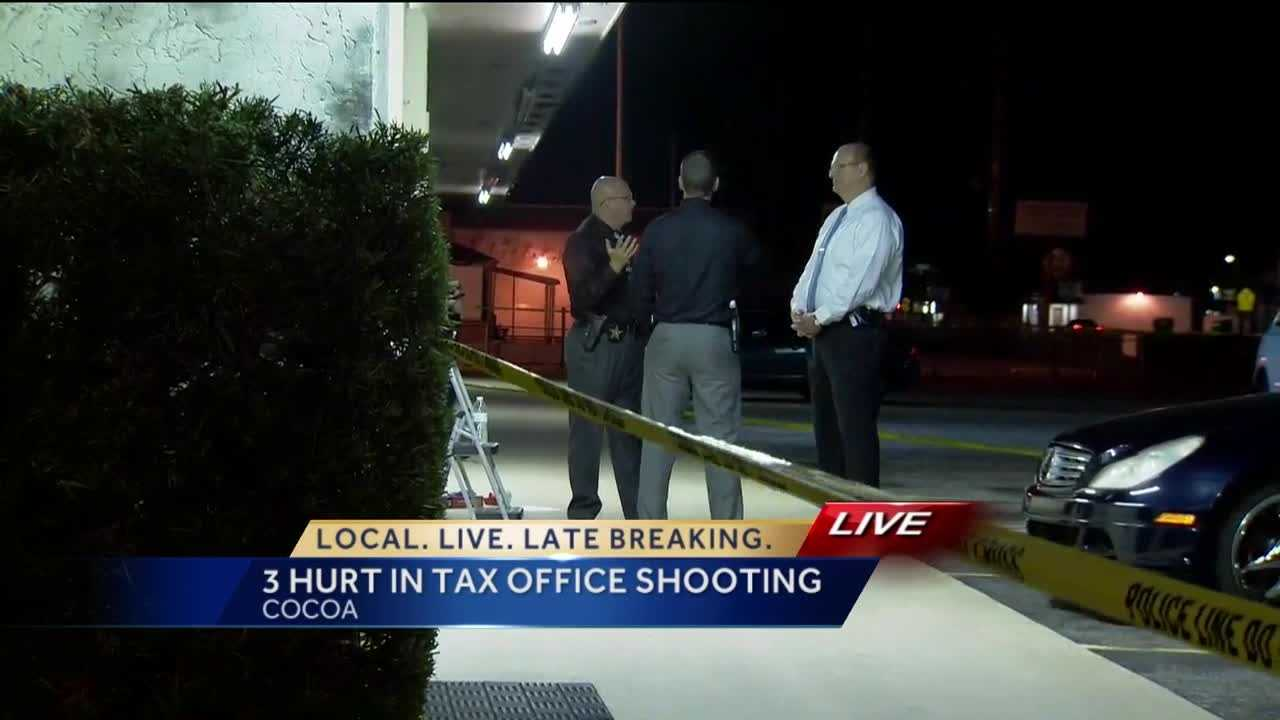 A man talks to WESH 2 News about wrestling a gun out of a shooter's hand at a local tax office. Chris Hush (@ChrisHushWESH) has the story.
