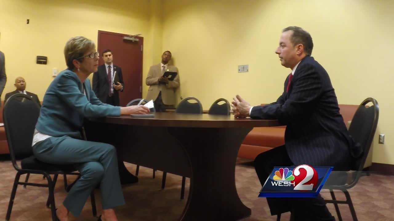 The Chairman of the Republican National Committee was in Daytona Beach Thursday for the 4th Annual Black Republican Trailblazers Awards Luncheon. It was held at Bethune Cookman University as the RNC works to connect with minorities. Claire Metz reports.
