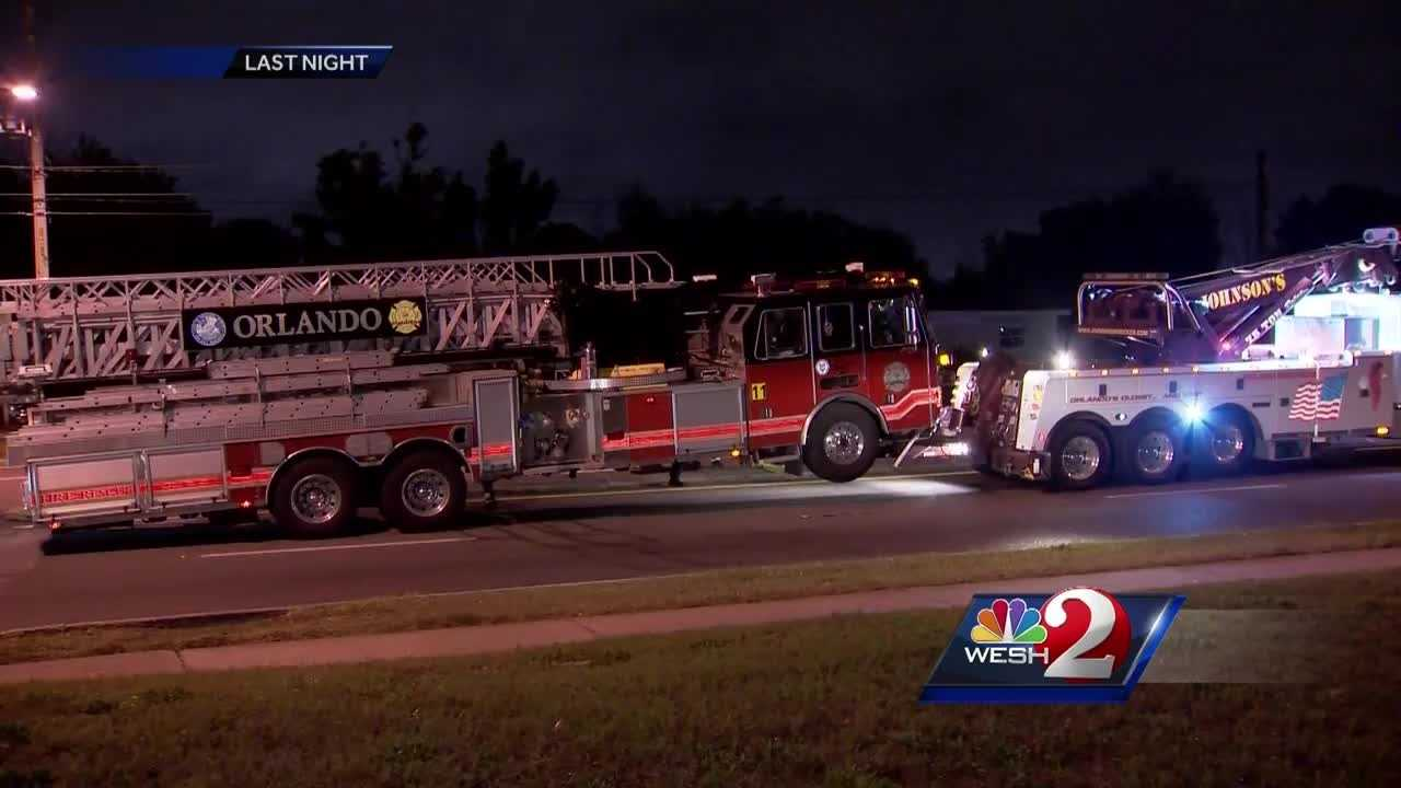 A fire truck collided with at least one car and three people were taken to the hospital Thursday night. The crash has locals speaking out about the intersection in which it happened. Bob Kealing has the story.