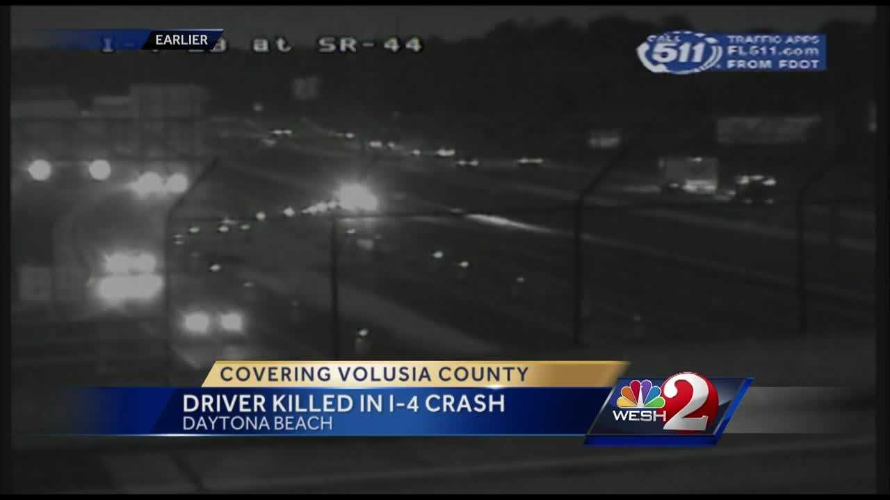 Troopers say speed may have been a factor in a deadly crash on Interstate 4 in Volusia County Saturday morning.
