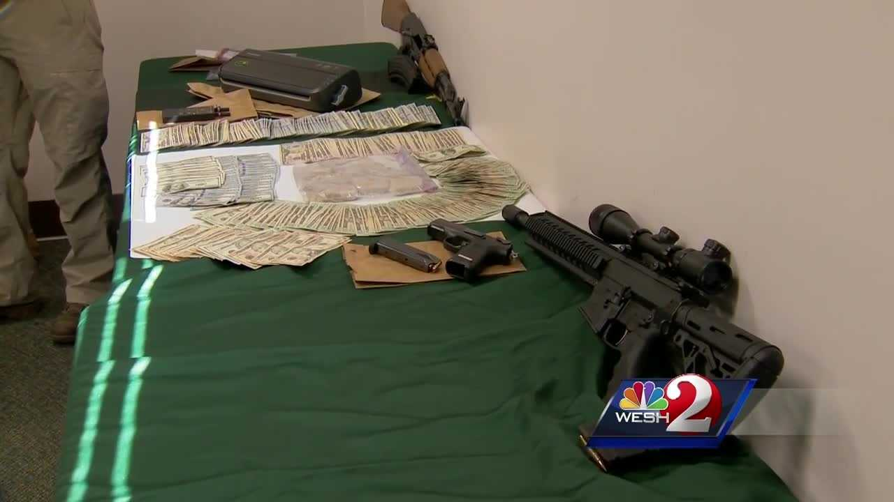 Marion County drug agents said they seized a significant amount of heroin earlier this week.