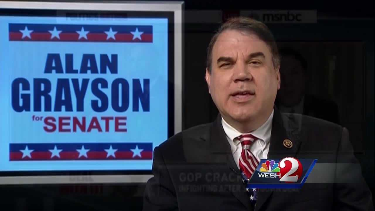 "U.S. Rep. Alan Grayson is under attack, and it's coming from one of his own party's top leaders. Grayson is the target of sharp comments from Nevada Senator Harry Reid, who's calling him ""unethical."" Greg Fox reports."