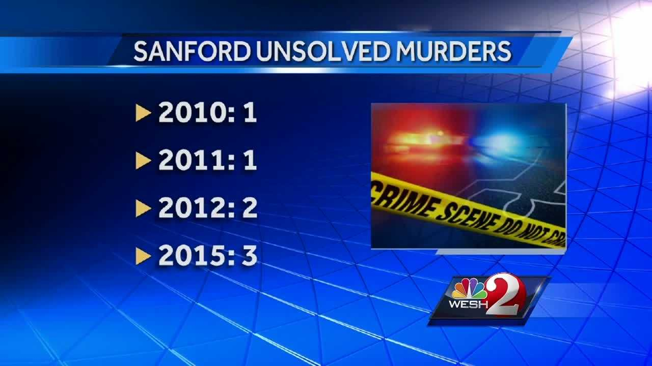 Crime solving is a team effort. Investigators, crime scene technicians, lab analysts and witnesses. Officials in Sanford said they need more witnesses to come forward if they hope to make arrests in their seven unsolved murders.