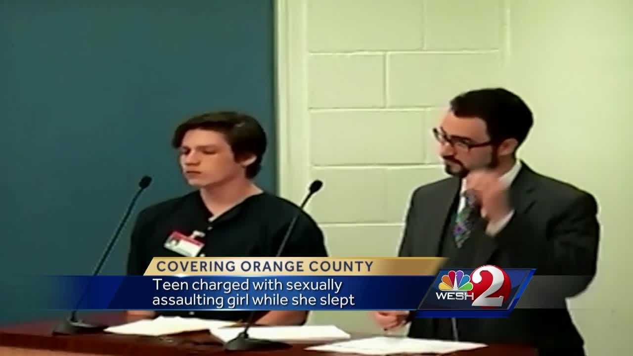 An Orange County high school student is charged with burglarizing the apartment of a minor and sexually assaulting her while she slept. Bob Kealing has the story.