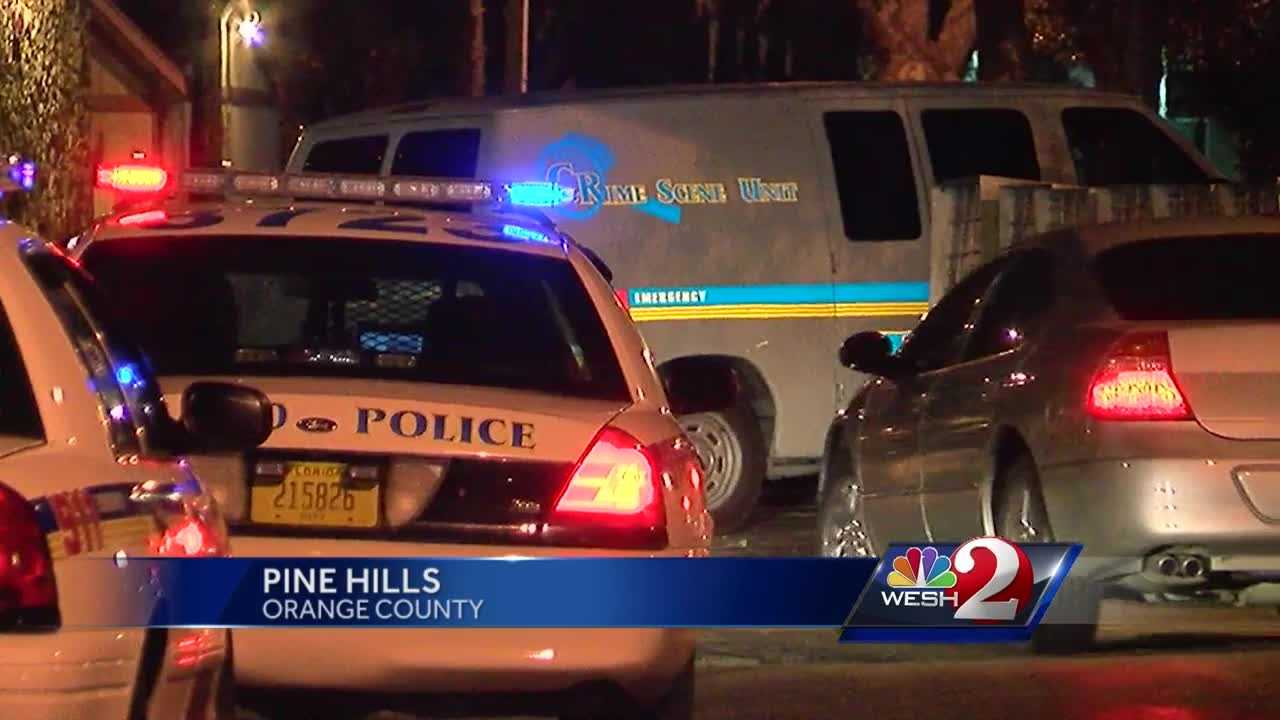 A shooting in Orange County left one man hurt and now three men are on the run. Police say around midnight, one man was shot at the Pine View Apartments in Pine Hills. Gail Paschall-Brown has the latest update.