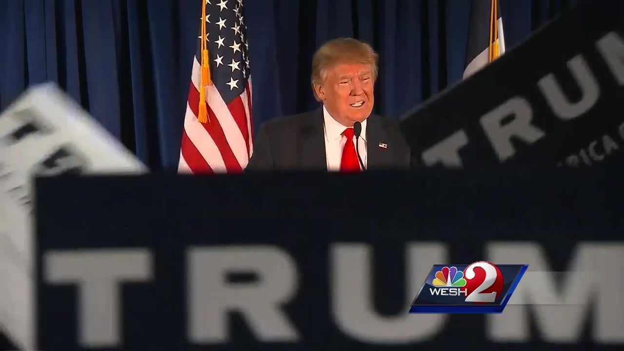 Moments after scoring a win in the Nevada primary, Donald Trump laid out his plan on moving his campaign forward to more victories. Trump apparently gave a shout-out to Florida, and tonight, WESH 2 News is learning just how much Trump might like the Sunshine State. Greg Fox reports.