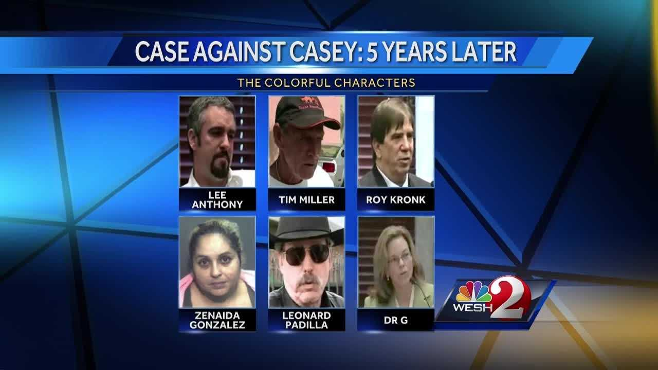 WESH 2's Amanda Ober is looking at what has happened to several key players in the case who also became household names, starting in 2008, when Casey's daughter, Caylee, was first reported missing.