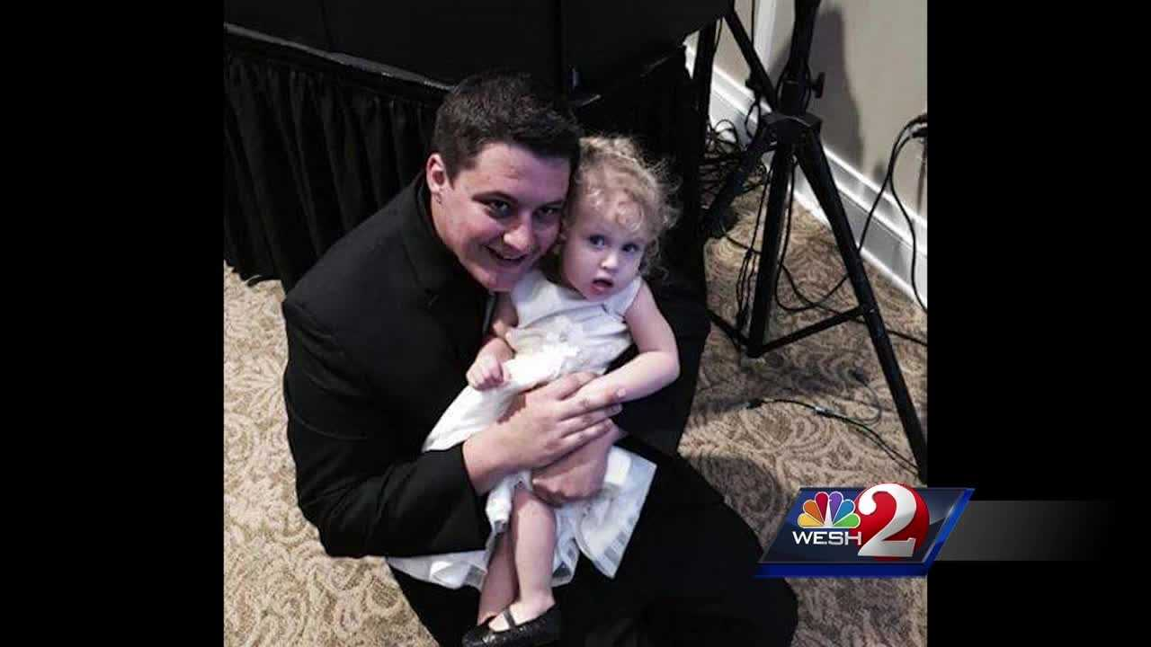 A man struck and killed by a woman who was fleeing from a sheriff's deputy early Sunday morning was a single dad working his first shift as a Domino's Pizza delivery driver, his family says.