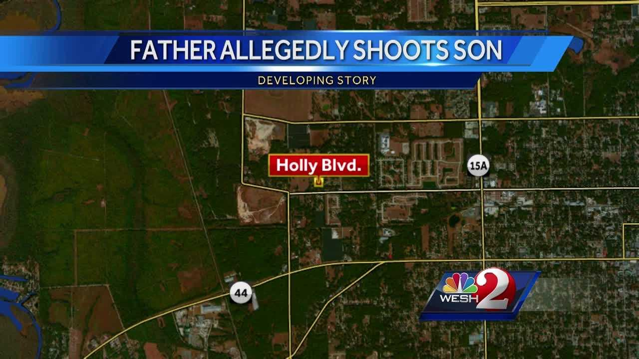 A father is accused of shooting his own son in Volusia County. Neighbors told WESH 2 News the two men fought frequently. Deputies arrested the father.