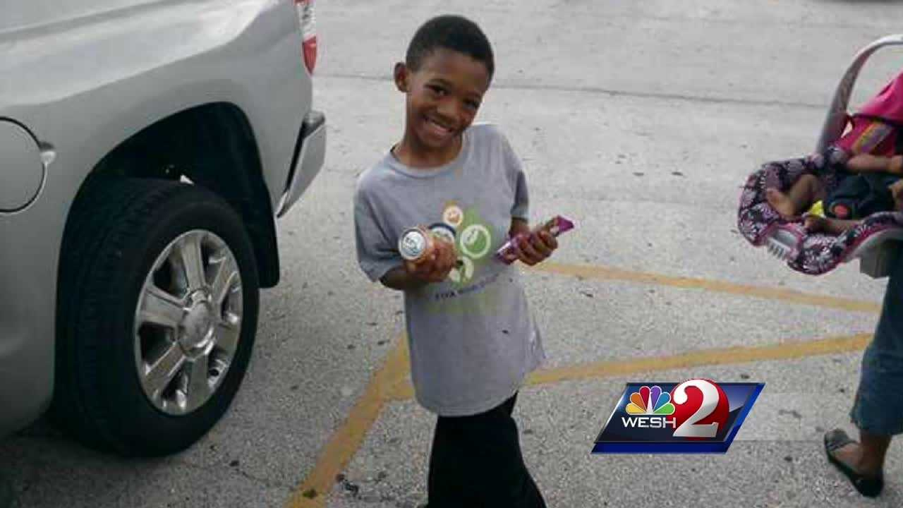 An 8-year-old boy is fighting for his life after he fell into a canal while walking home from school.