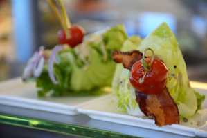 Baby Iceberg Wedge Salad at California Grill.
