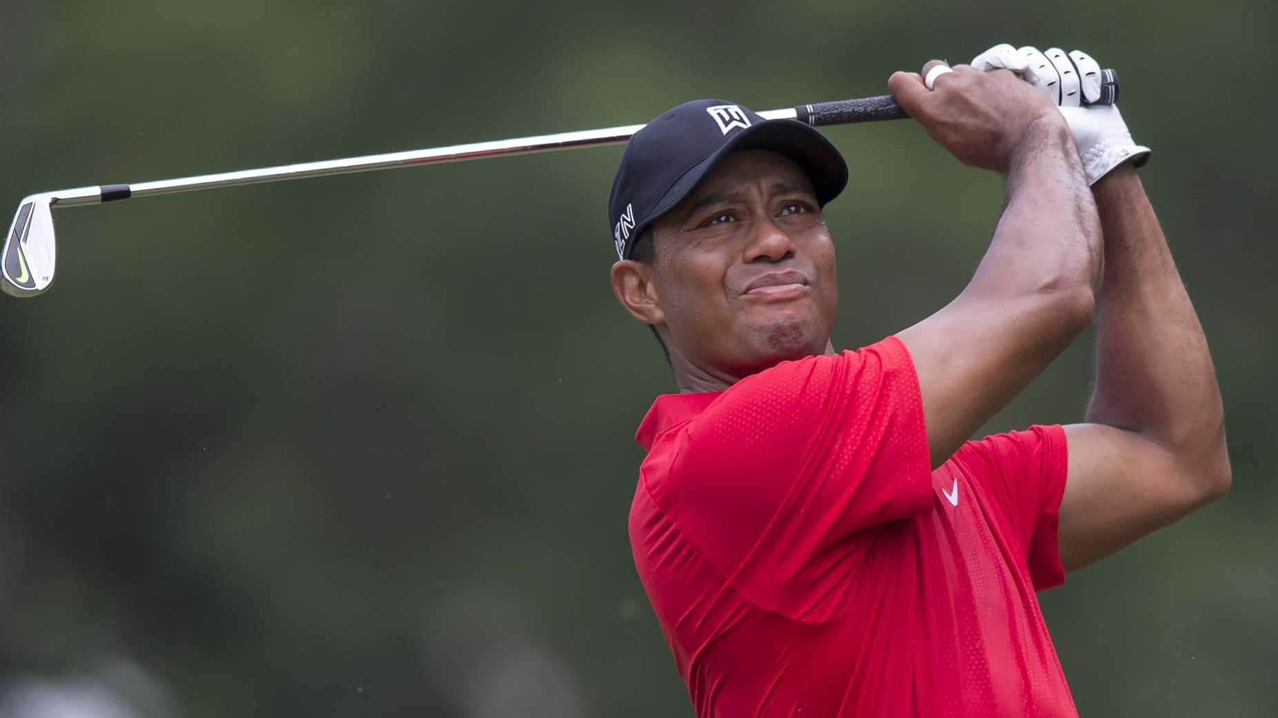 Tiger Woods - AP image