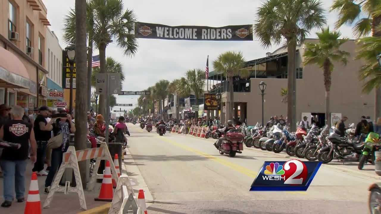 More than half a million motorcyclists are descending on the greater Daytona Beach area. WESH 2 News Reporter Claire Metz has the story.
