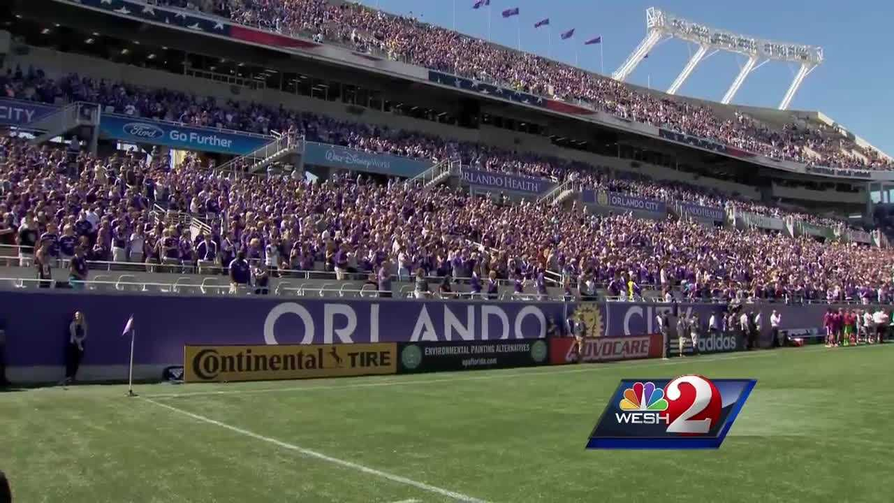 Orlando City scored two goals in the final 30 seconds to secure a draw that felt more like a victory to the 60,000 fans filling the Citrus Bowl Sunday.