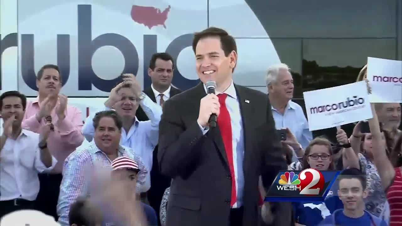 Many analysts believe if Marco Rubio does not win Florida, he will drop out of the race. Brett Connolly is live on the campus of the University of Miami with an update ahead of the GOP debate Thursday night.