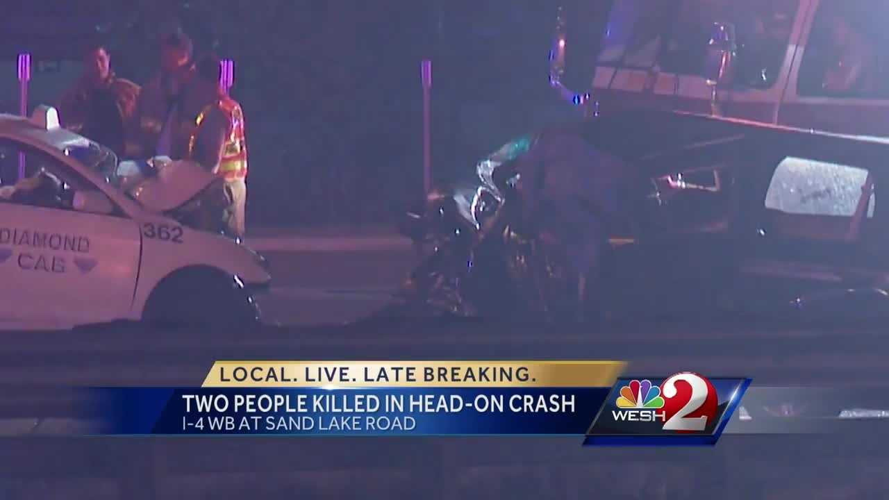 Troopers believe alcohol was a factor in the early-morning crash on I-4.