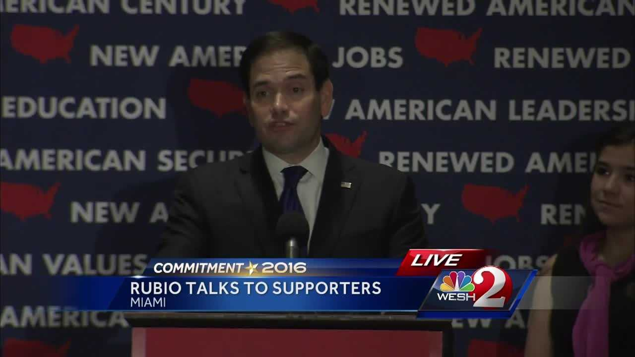 Republican Marco Rubio is ending his campaign for the Republican nomination for president after a humiliating loss in his home state of Florida.