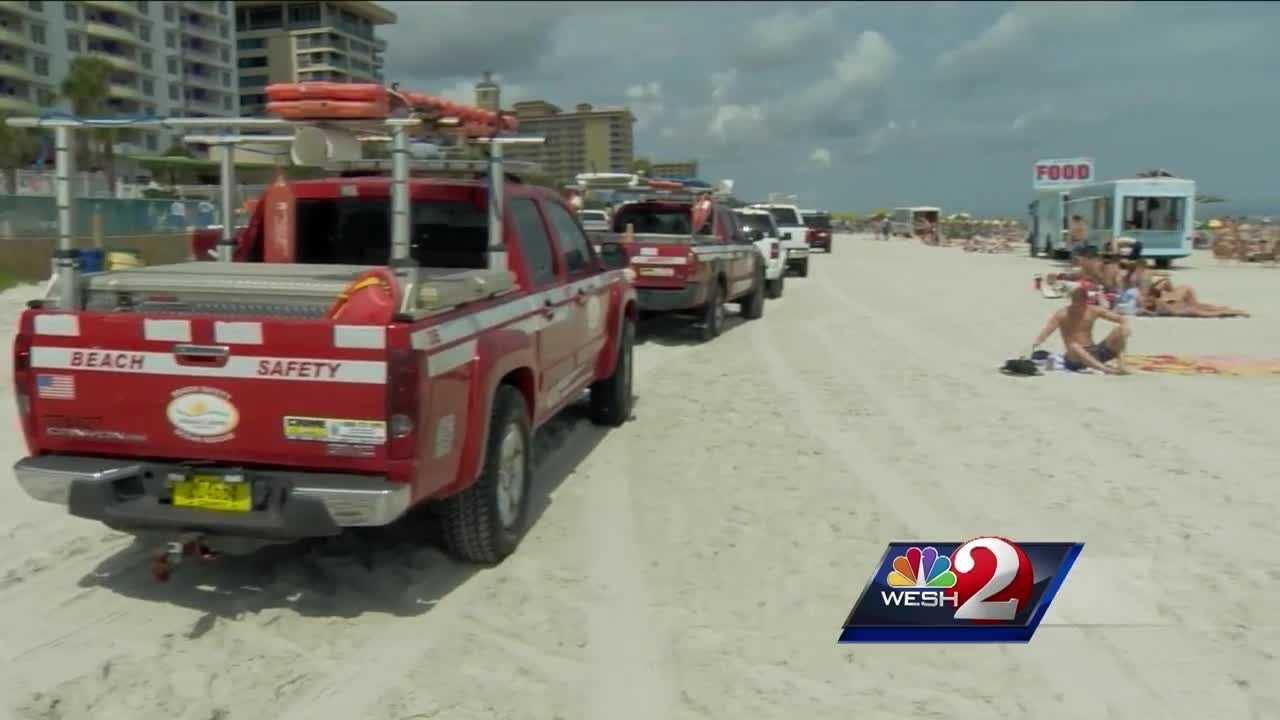 In just two weeks of Spring Break in Daytona Beach, police have made over 100 arrests.