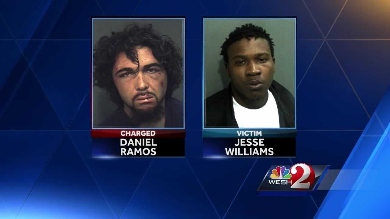An apartment complex maintenance man is charged with murder. Investigators say Daniel Ramos killed Jesse Williams. Greg Fox (@GregFoxWESH) has the story.