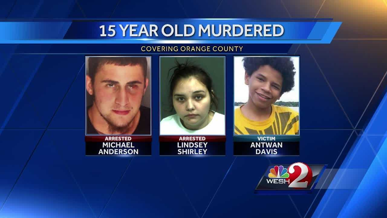 A teenage couple is behind bars, charged in the murder of an Orange County 15-year-old. Matt Lupoli has the latest update.