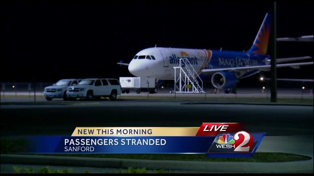 Some Allegiant passengers are hoping to finally get to their destinations after a long and frustrating day.