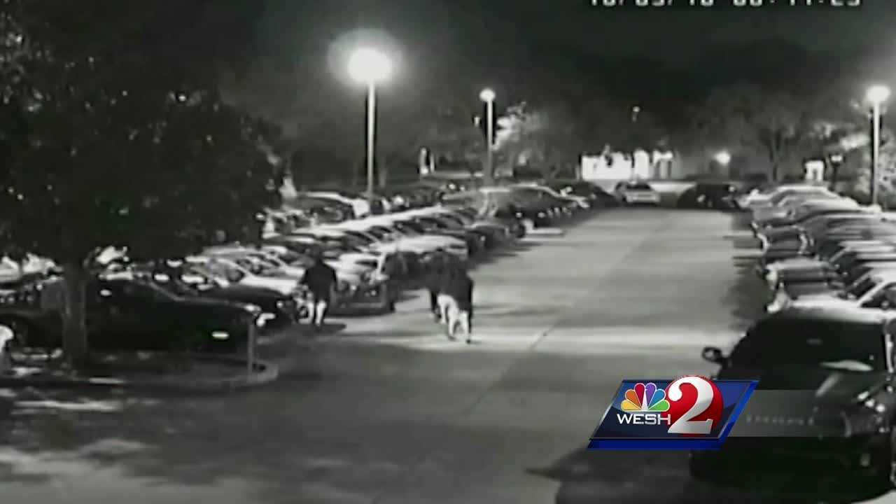 Authorities in Brevard County are searching for a group of thieves they say stole nine cars from two car dealerships.