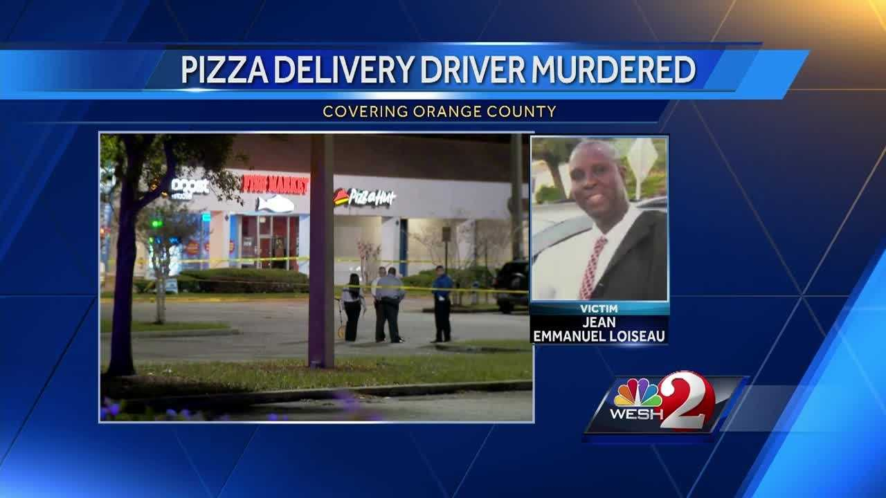 The family of a man who was shot and killed in Orlando Friday night says he was slain while on the job delivering pizzas.