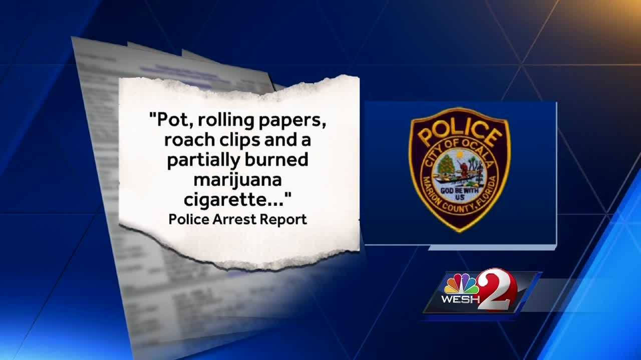 WESH 2 News is learning more about an Ocala police officer who is facing charges after pot and paraphernalia were allegedly found inside his cruiser. The officer then resigned and was arrested. Gail Paschall-Brown (@gpbwesh) has the story.
