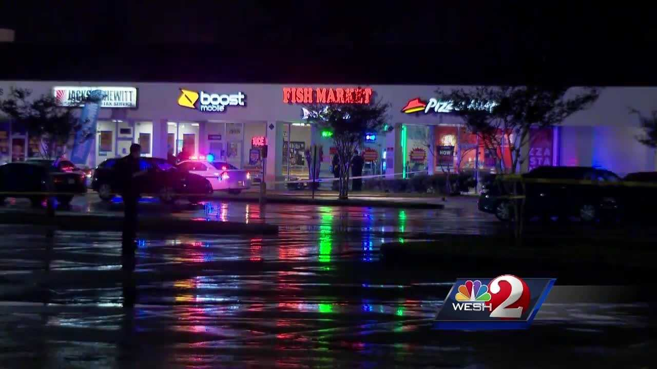 People at a local shopping center are on edge after two shootings in less than a week.