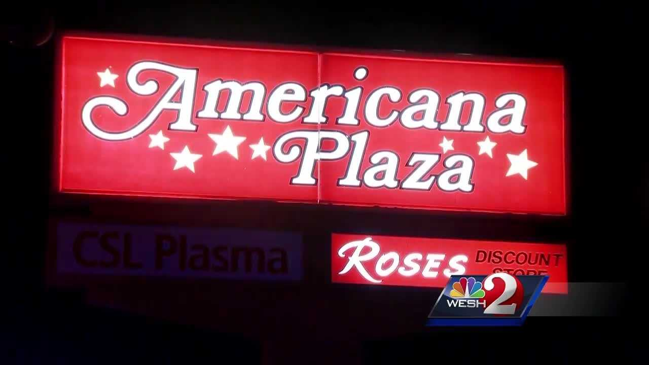 Businesses and customers of an Orange County shopping center are upset after two shootings inside of a week. A security guard working his first shift at the Americana Plaza was shot in the leg Tuesday night. Bob Kealing (@bobkealingwesh) has the story.
