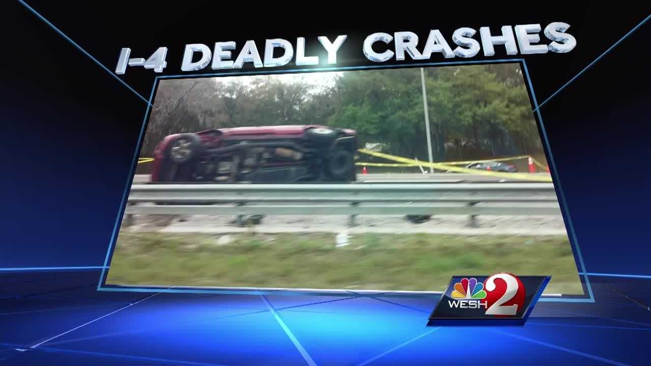 This week alone, there have been three deadly crashes on I-4 in Seminole County alone. WESH 2's Michelle Meredith has a warning from deputies.