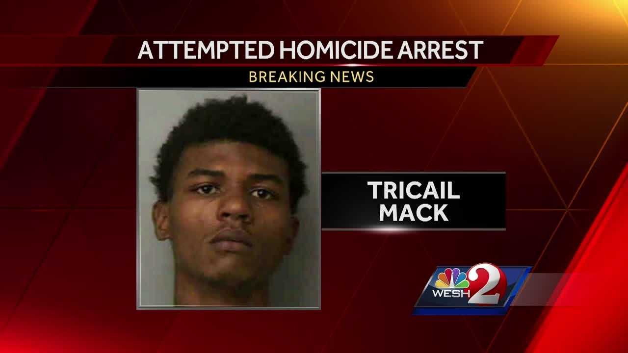 The search for an attempted murder suspect in Seminole County is now over. The suspect, Tricail Mack, is in custody. Matt Lupoli has the story.