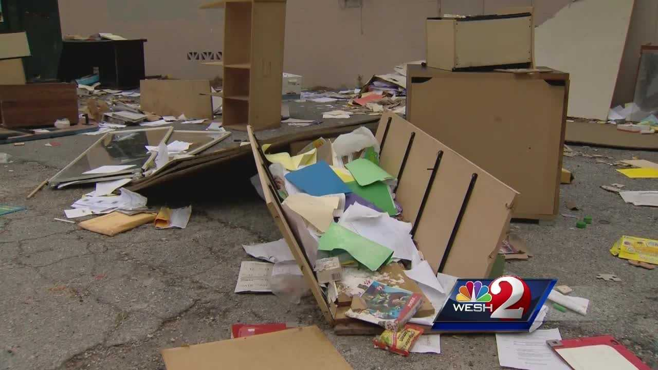 Paperwork with personal information of former school employees was found floating around a DeLand neighborhood. A former charter school owner says he doesn't know how it got there. Bob Kealing (@bobkealingwesh) has the story.