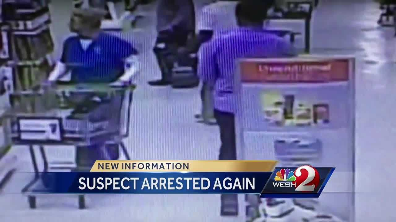 A man was caught on camera allegedly shooting video up girls' skirts for a second time. Both incidents happened at the same Orlando Publix grocery store, authorities say. Summer Knowles reports.