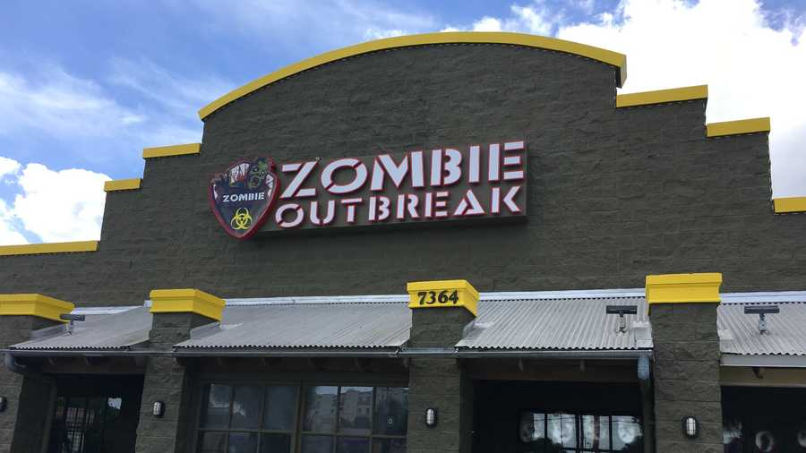 Adver Zombie Outbreak Attraction Opens On International Drive
