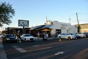 Nova Restaurant on Orange Avenue in Orlando.
