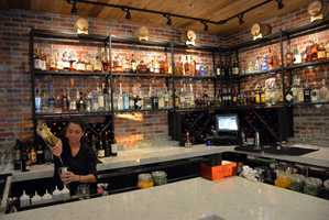 Bar at Nova Restaurant on Orange Avenue in Orlando
